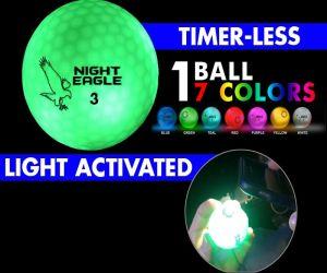 Night Eagle CV LED Golf Ball - 7 Color